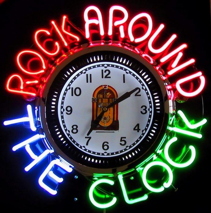 around the clock - 693×700